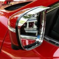 Estilo do carro Retrovisor Espelho Capas Para Nissan X Trail-Rear View Mirrors Quadro Adesivos X-TRAIL Vampira 2014-2017 2018 Acessórios