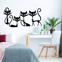 European-Style fox Wall Stickers Home Decor Girls Bedroom Sticker Kids Room Nature Decor Art Mural carved let everything be done wall stickers home decor girls bedroom sticker kids room nature decor decal creative stickers