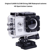 Original SJ4000 SJCAM Diving 30M Waterproof extreme HD Sport Action Camera for all Vehicle