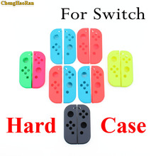 цена на ChengHaoRan Replacement Housing Hard Shell Skin Case for Nintendo Switch NS Joy-Con Controller Green Faceplate Cover for joycon