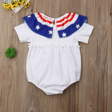 Infant Baby Girls Boys Summer Romper Bodysuit Jumpsuit Outfit Sunsuit Clothes summer fashion baby boys halloween one piece bodysuit mommy s little nightmare print baby gentleman jumpsuit clothes outfit ds9