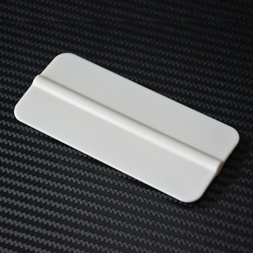 FOSHIO White Soft Vinyl Squeegee Car Wrap Tools Vehicle Sticker Film Wrapping Scraper Window Tint Tool Auto Glass House Cleaning