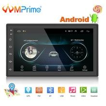 """AMPrime Universale 2 Din 7 """"Android Car Radio Multimedia Bluetooth GPS di Navigazione per Auto Stereo Collegamento Specchio Wifi FM DAB lettore"""