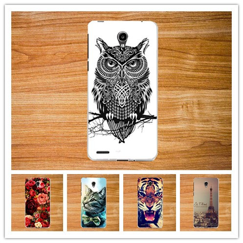 Beautiful Rose Flower Paint TPU Case For Alcatel One Touch GO Play <font><b>7048X</b></font> Cute Animal Design case cover For alcatel Go play <font><b>7048X</b></font> image