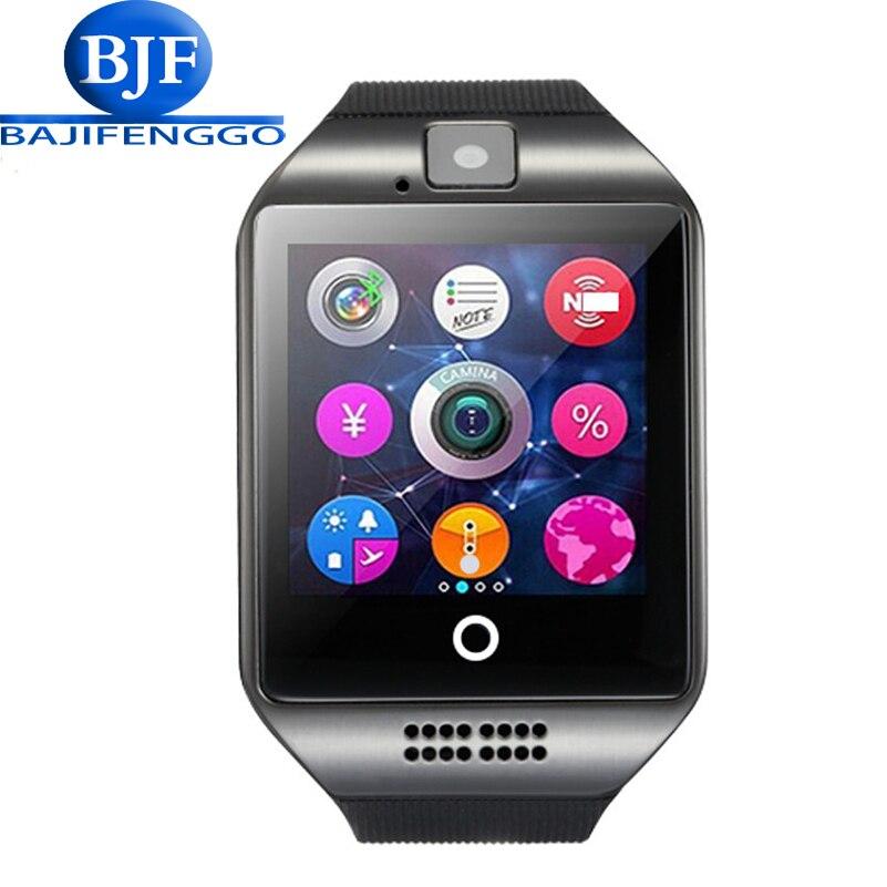 imágenes para Reloj inteligente Para Android Teléfono Con Ranura Para Tarjeta Sim Empuje Mensaje Conectividad Bluetooth Android Teléfono música Mejor batería 500mA