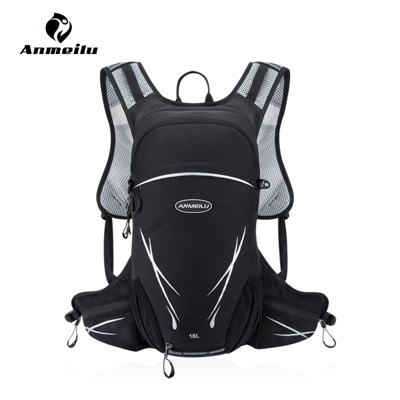 Anmeilu 18L Outdoor Cycling Backpack Sport Camping Hiking Travel Hydration Backpack Bicycle Bike Shoulder Storage Bag Rucksack anmeilu bike backpack with reflective safety color 25l waterproof cycling bag outdoor bike travel bag rucksack