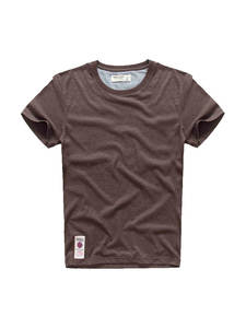 Мужская футболка с коротким рукавом VOMINT, мягкая эластичная дышащая футболка с о-вырезом, 4 цвета