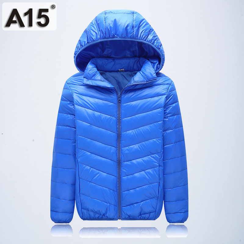Image 5 - A15 Children Clothing Boys Winter Jacket 2019 Brand Hooded Kids Girls Winter Coat Long Sleeve Warm Parka Outwears Big 10 12 Year-in Down & Parkas from Mother & Kids