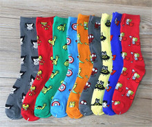 Funny Superhero Socks (9 designs)