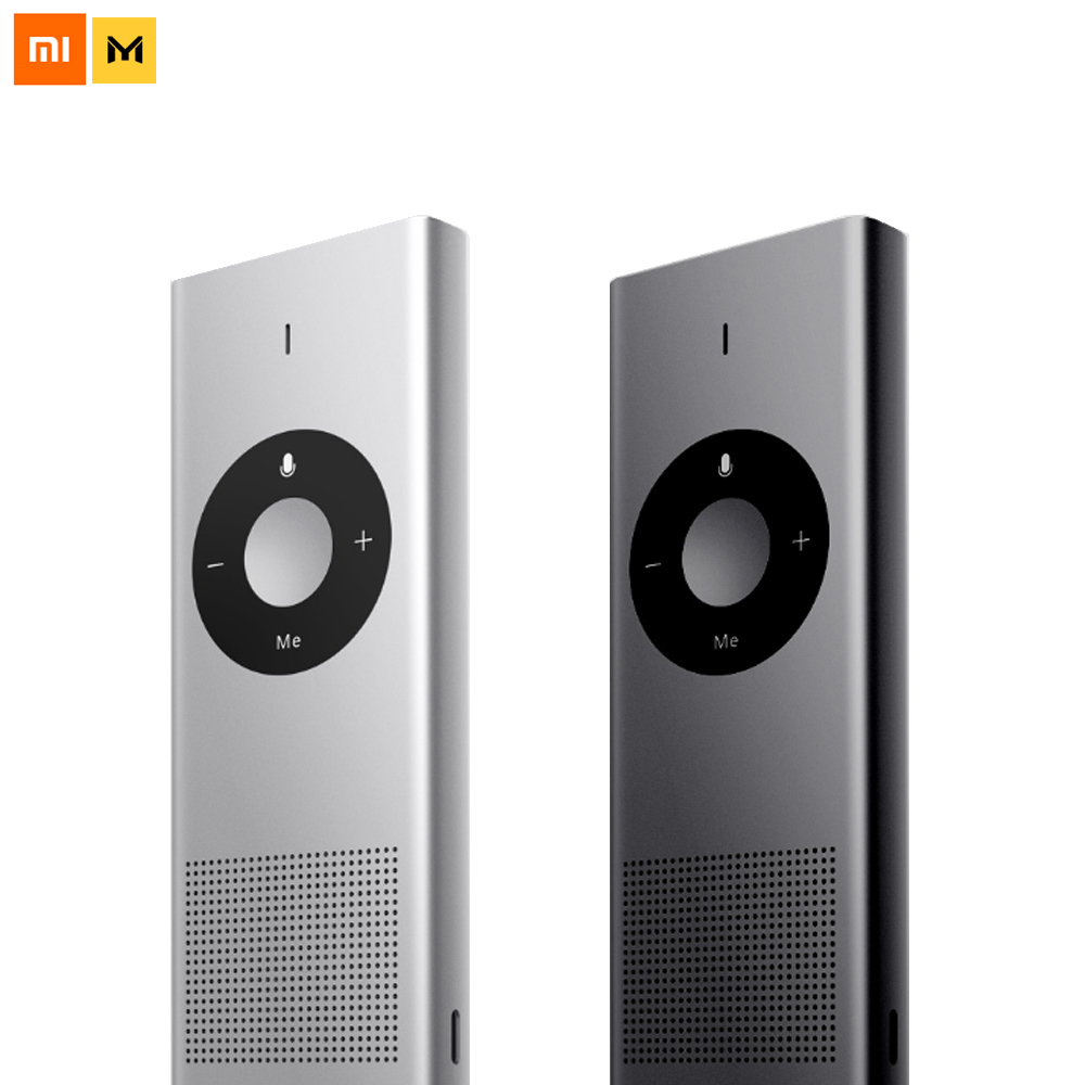Xiaomi Mijia Chain Link Moyu AI Translator 14 Lauguages 8 Hours Standby Wifi Network Translate Machine For Travel Smart Home [english version] original xiaomi mijia mi ai translator 14 language 7 day standby 8h continuous microsoft translation engine