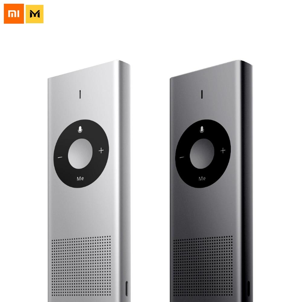 Xiaomi Mijia cadena enlace Moyu AI Translator 14 lauguajes 8 horas de espera Wifi red máquina de traducción para viaje inteligente hogar