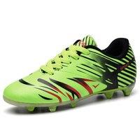 2017 New Arrival Men Children Brand Football Shoes Size 35 44 Soccer Shoes Lightweight Kids Boys
