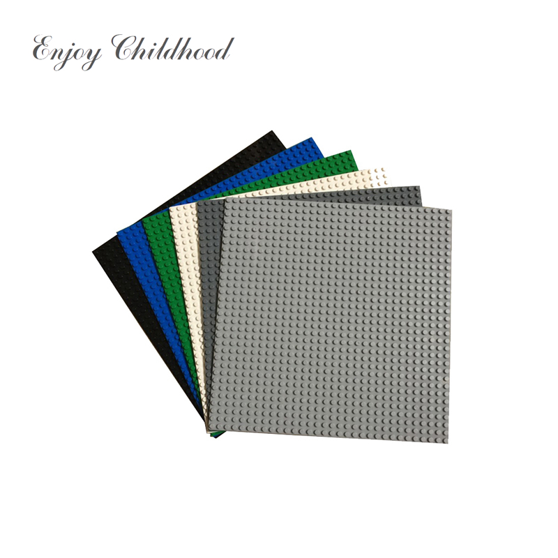 7 Colors Single Face 32*32 Dots Small Building Brick Block Baseplate Board Compatible with Legoings Toys for Children