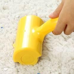 Портативный ролик что-нибудь вкусненькое многоразовые шерсть щетка для волос для чистки одежды липкой резины Clean Rollers очиститель эпилятор