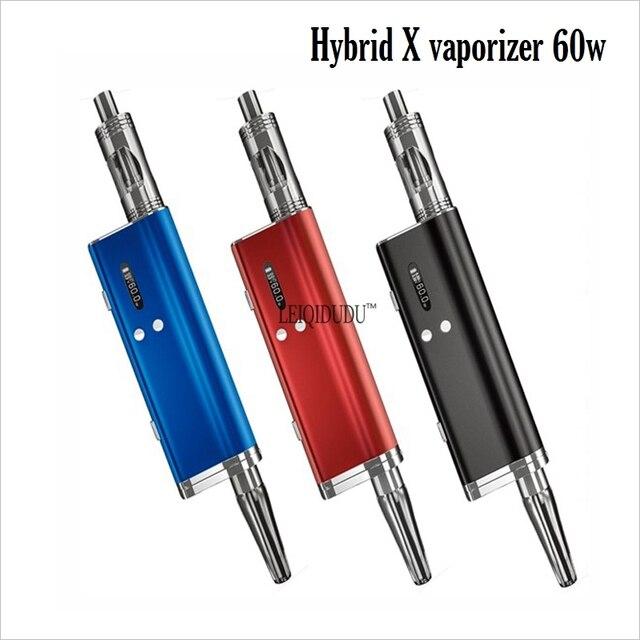 Оригинальные Электронные сигареты испаритель комплект Flowermate HYBRID X Комплекты с югу ом бак в 1 наборы с 1500 мАч батареи