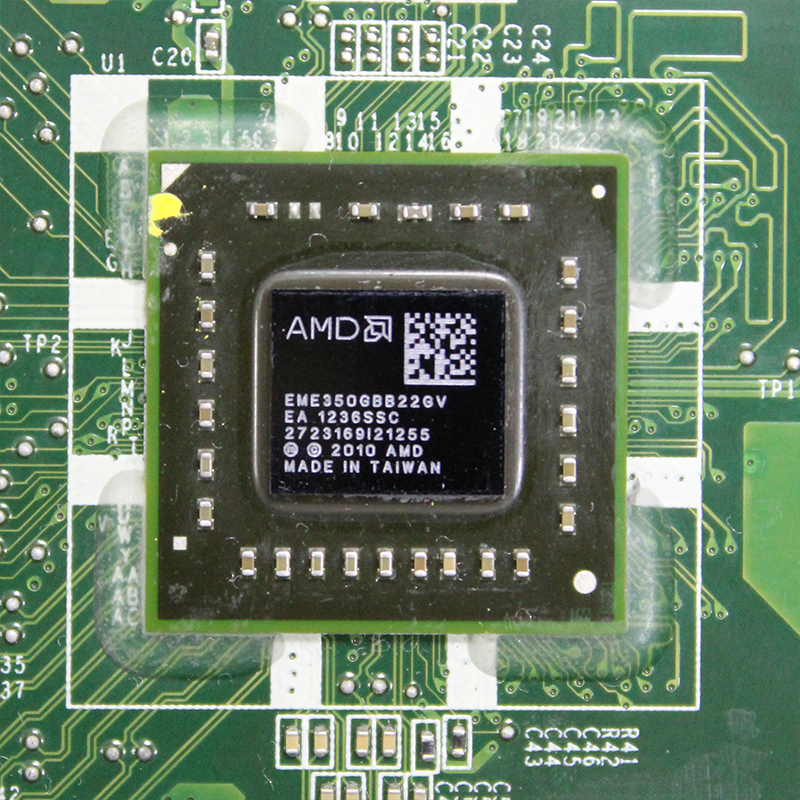 "Original For Lenovo AIO C325 C225 20"" desktop motherboard AMD E350 CPU DDR3 DA0QUDMB6E0 90000074 Free shipping  fully Tested 2"