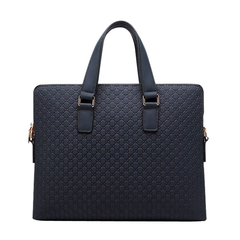 The new male package leather handbag business Baotou layer of leather shoulder diagonal package briefcase 14 inch messenger bag leather handbag men baotou layer of cowhide oil wax shoulder bag business briefcase messenger bag