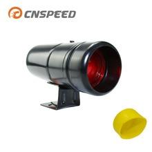 CNSPEED 30 мм об/мин сменный светильник Тахометр 1000-11000 об/мин предупреждение на выбор черный чехол для автомобиля YC100137