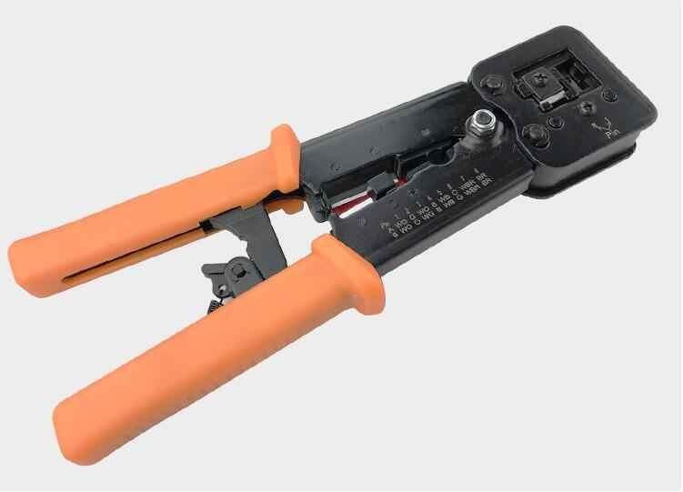 أدوات الشبكات RJ45 RJ11 العقص مقشر كابل المكشكش RJ45 الضغط خط المشبك كماشة لموصل RJ45