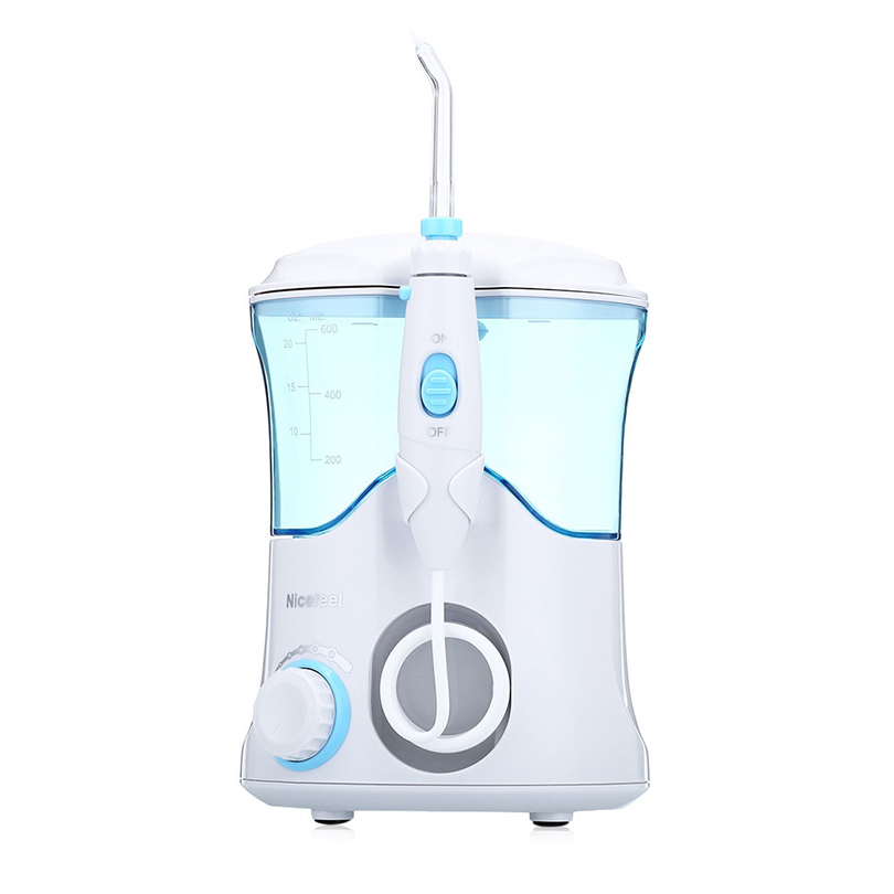 IKEEPI Professional Dental Flosser Oral Dental Irrigator Water Flosser Tooth Pick Dental Water Jet Oral Irrigation 100pcs water flosser flycat fc168 oral irrigator 600ml tank 8pcs jet tips dental flosser power water jet protable oral deep
