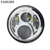 7 Inch Motorcycle H4 Led Headlight Lamp With High Low Beam For Honda Moto CB400 CB500