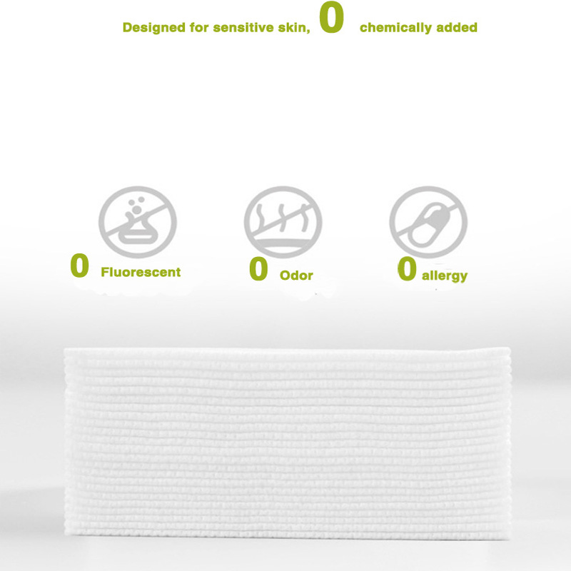 Wash Towel 80 piece cotton Authentic Muxi Disposable 100 Cotton Wash Towel Cleansing towel Extractable beauty towel No added in Facial Tissue from Beauty Health