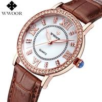 2018 New Arrival Brand Elegant Retro Watches Women Fashion Luxury Quartz Watch Clock Female Casual Leather Women's Wristwatches