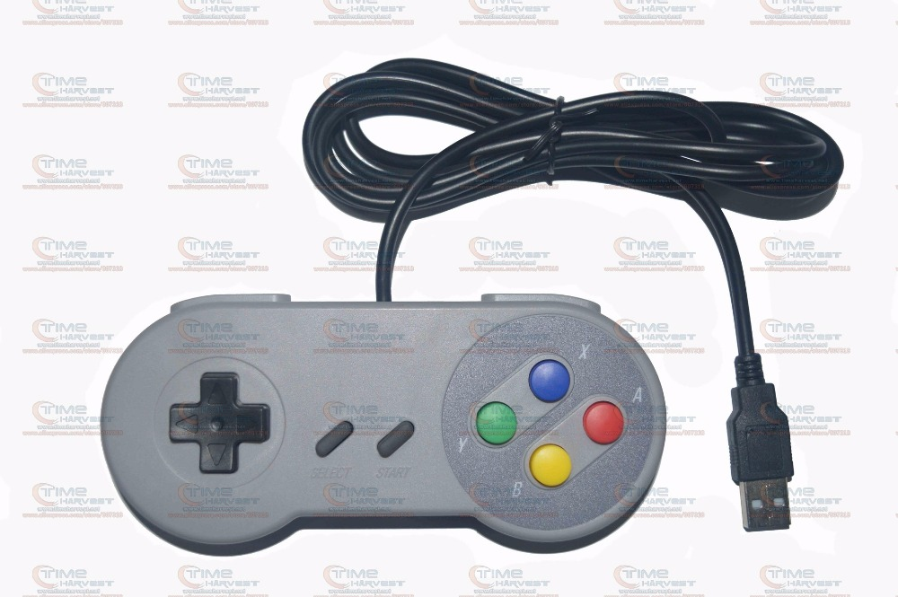 2 pcs Hot USB joypad Wired USB gamepad for SNES SFC PC MAC New Classic USB Controller Ga ...