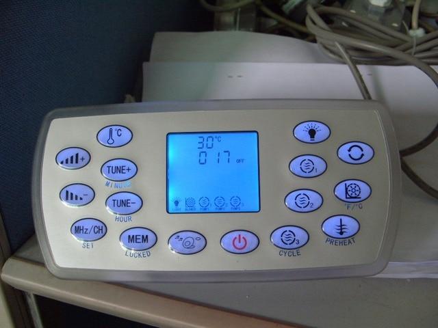 KL8 3 spa keypad with white lock backside, hot tub controller panel fit LX heater for JAZZI,J&J,SERVE,kingston,monalisa,mesda
