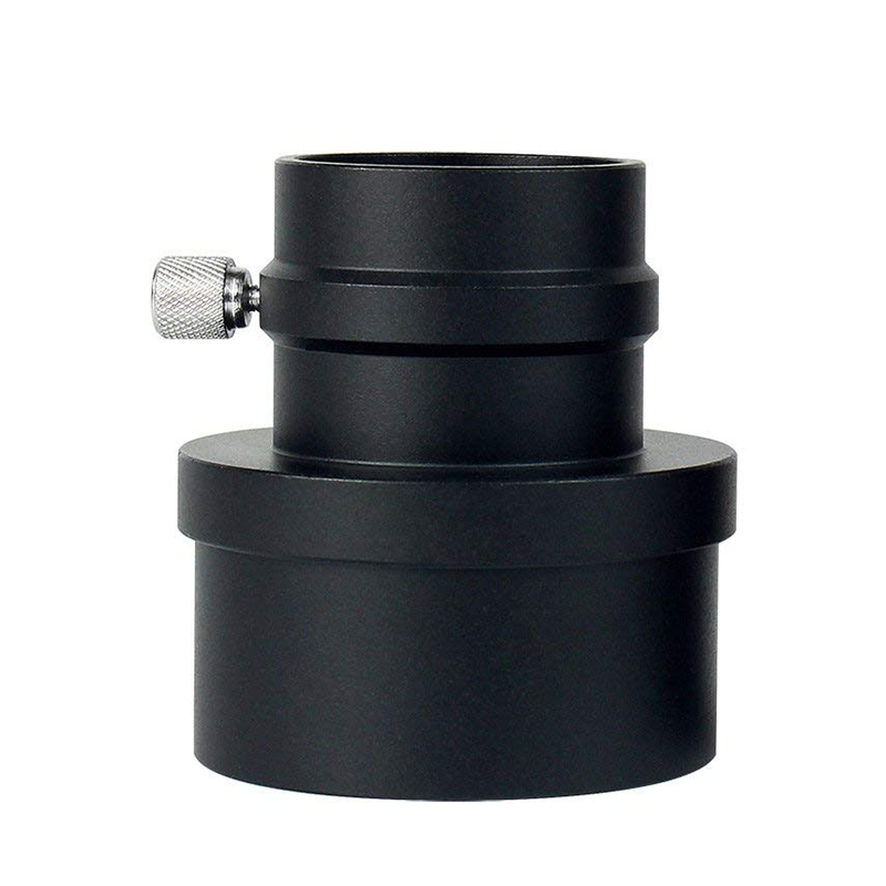 2Inch to 1.25Inch Eyepiece Adapter Allows You to Use 1.25 Eyepieces in Any 2 Telescopes