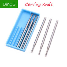 6pcs Alloy tungsten steel Olive Amber Engraving carving knife End Mill Woodworking Router Bit Wood Milling Cutter Tools XieY