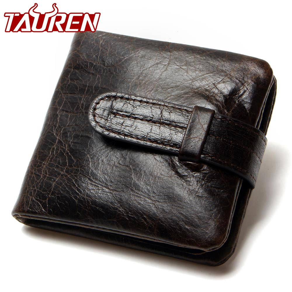 Luxury Vintage Casual 100% Real Genuine Cowhide Oil Wax Leather Men Short Bifold Wallet Wallets Purse Coin Pocket Male Zipper кисть tony moly professional powder brush 1 шт page 7