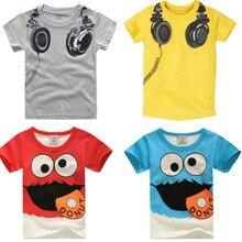 Nuovo Bambino di Modo del Ragazzo T-Shirt Per Bambini Del Fumetto Del  Manicotto Del fe1be4f902b