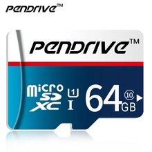 Pendrive memory card Micro SD card class 10 TF card Microsd 64GB 32GB 16GB 8GB External Pen drive Flash memory disk for Phone