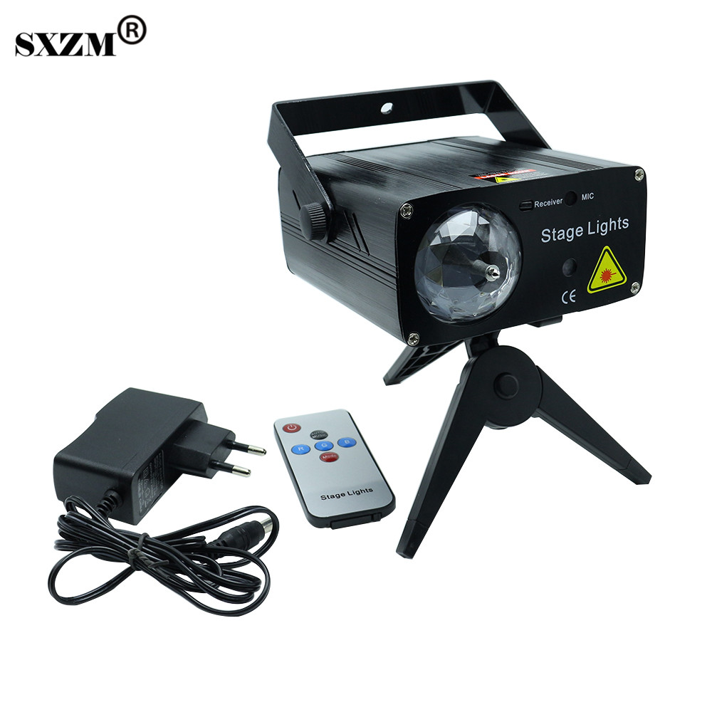 SXZM 3W AC110-240V Led laser stage light Multicolor fairy light For KTV Festival Party Wedding indoor home decoration