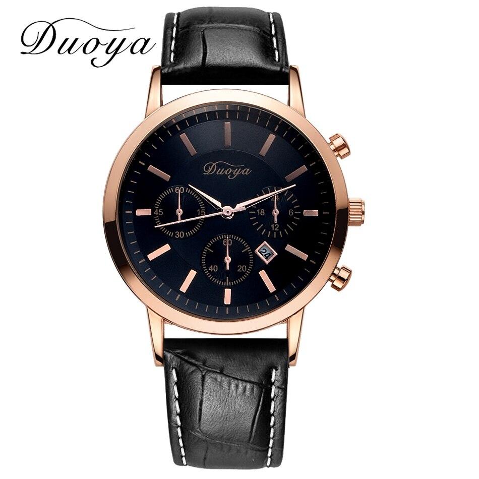 duoya brand luxury sport fashion quartz watches