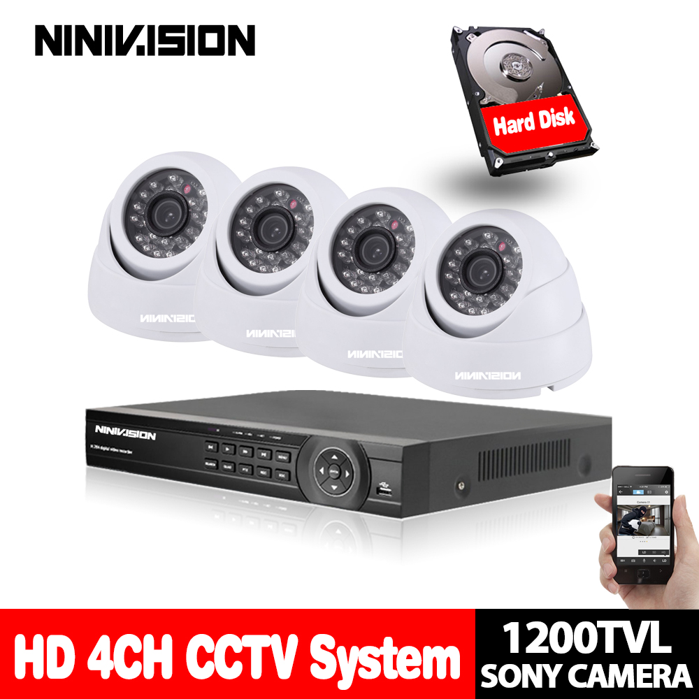 SONY 1200TVL Security CCTV System 4 channel HDMI 1080P DVR with security system 1.0MP indoor IR day night vision cctv camera kitSONY 1200TVL Security CCTV System 4 channel HDMI 1080P DVR with security system 1.0MP indoor IR day night vision cctv camera kit
