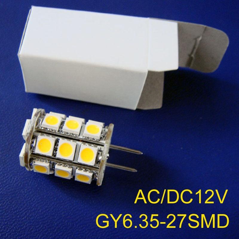 High quality AC/DC12V <font><b>GY6</b></font>.35 <font><b>LED</b></font> light,G6 <font><b>LED</b></font> bulb,<font><b>led</b></font> <font><b>gy6</b></font> lamp 12v free shipping 5pcs/lot