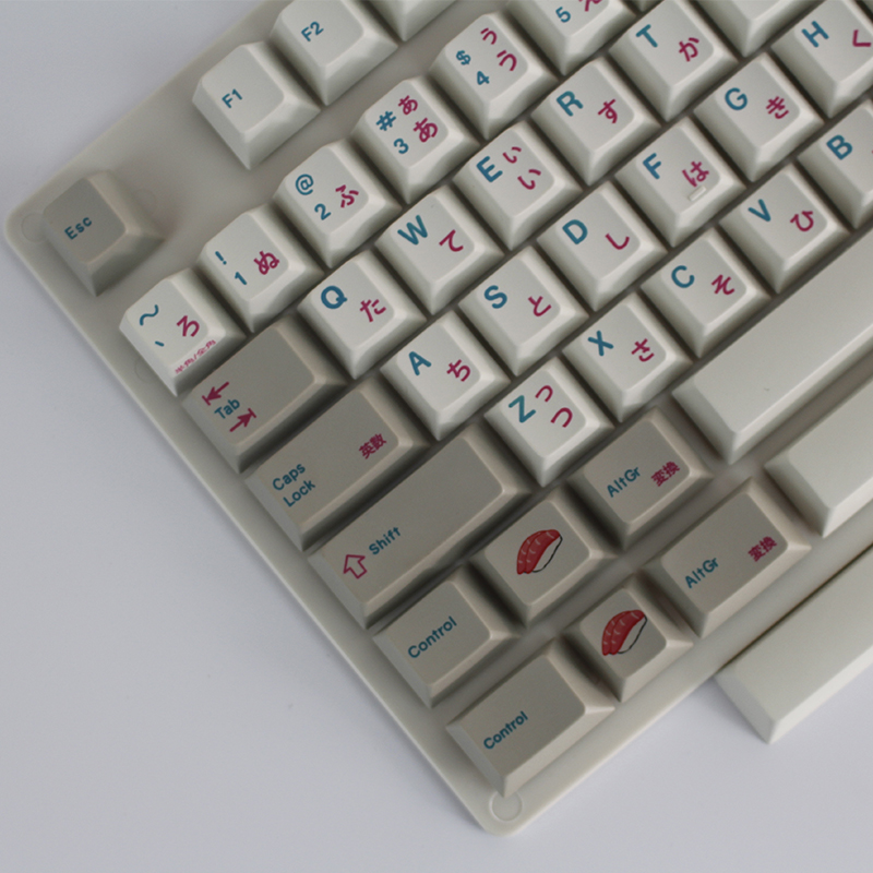 все цены на  Enjoypbt keyboard mechanical keyboard keyboarded hot 117 keycaps Japanese keycaps  Dye-Subbed Keycap Set cmyw rgby  онлайн