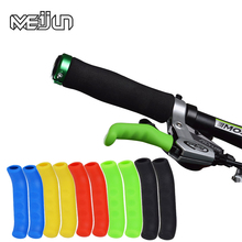 Brake handle silicone sleeve mountain road bike dead fly universal type brake lever protection cover the