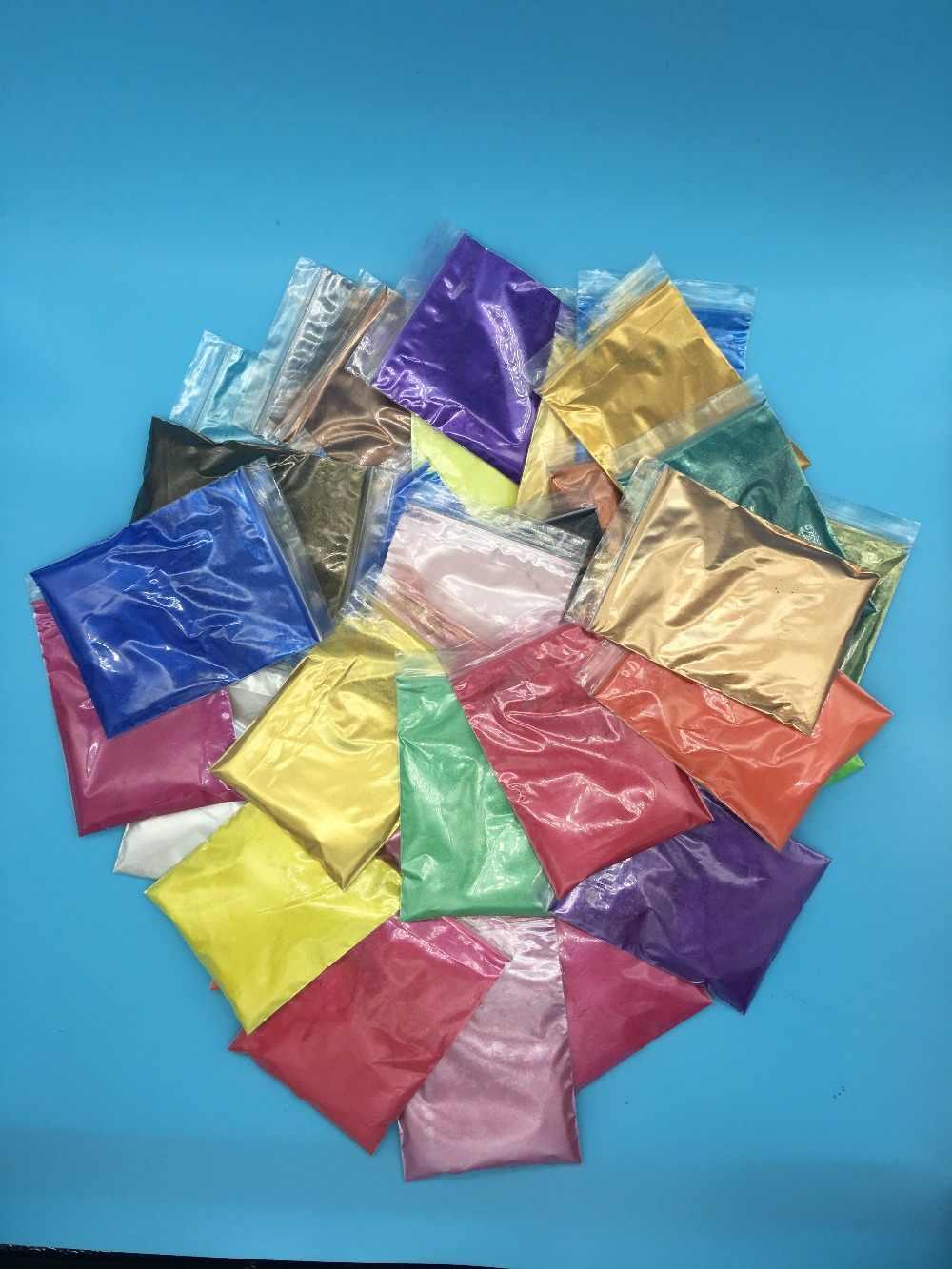 SÜPER Parlak koyu mavi Renk Sedefli pigment, inci cilası pigment, Mika Tozu DIY Tırnak Tasarımı, DIY göz farı Oje