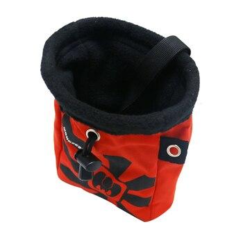 Red Blue Waterproof, Anti-Slip Chalk Bag Mountain-Climbing Rock Climbing, Powder Bags Slippery Powder Bag 8