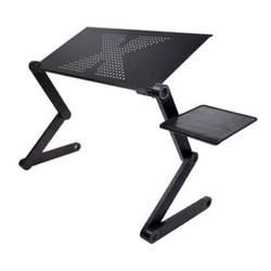 Портативный складной регулируемый складной стол для ноутбука Настольный компьютер Меса para тетрадь Стенд Лоток диван кровать черный