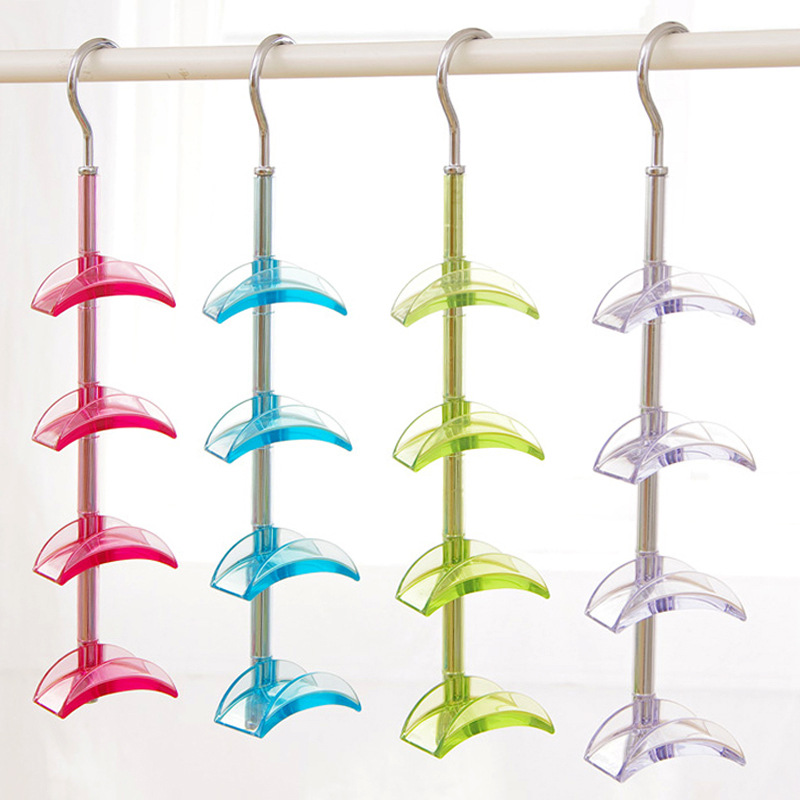 ᓂTie organizador gancho giratorio Tie Rack plástico de alta calidad ...