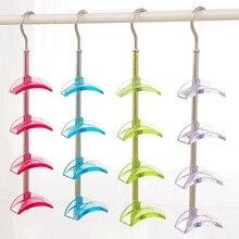 Tie organizer rotating hook tie rack high quality plastic tie storage with big hook hot sale belt holder useful belt organizer
