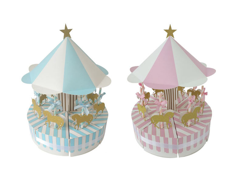 High Quality Carrousel Candy Box For Baby Shower