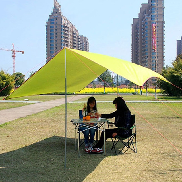 Wnnideo Outdoor Big Canopy Tent UV Protection for Shadow C&ing Hiking Traveling Parties Ultralight Wholesale & Wnnideo Outdoor Big Canopy Tent UV Protection for Shadow Camping ...