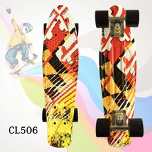 цены New Arrival 22 Inch Good Quality peny board for Girl and boy to Enjoy the skateboarding Mini rocket board With high Quality