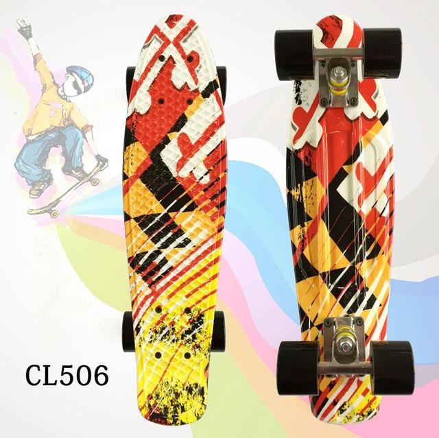 Nova Chegada placa peny 22 Polegada Boa Qualidade para a Menina e menino para Desfrutar a bordo do foguete skate Mini Com alta Qualidade