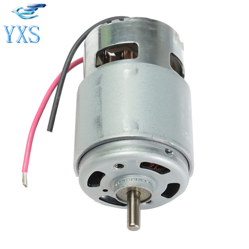 DHL Free RS-775W Motor Large Power DC 18V 14.8A 208W 18000RPM 90x42mm DC 6V-18V 775 High Speed High Power Motor RS-775W rs 775 dc electric 775 motor for drill 12v 24v 80w 150w 288w brush dc motors rs 775 lawn mower motor with two ball bearing